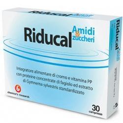 RIDUCAL AMIDI & ZUCCHERI 30 COMPRESSE
