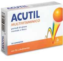 ACUTIL MULTIVITAMINICO 30 COMPRESSE - La farmacia digitale