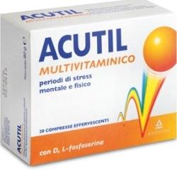 Image of ACUTIL MULTIVITAMINICO 20 COMPRESSE EFFERVESCENTE