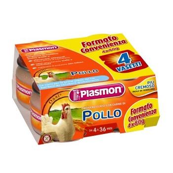 PLASMON OMOGENEIZZATO POLLO CON GIFT 4 X 80 G - Parafarmaciaigiardini.it