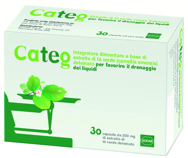 CATEG ESTRATTO THE VERDE 30 CAPSULE - FARMAEMPORIO