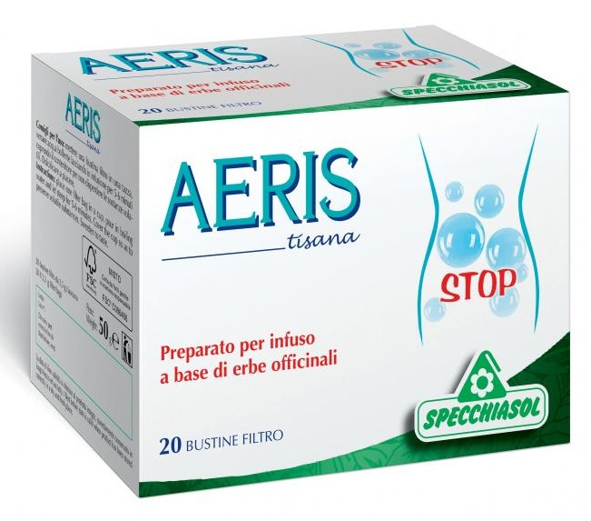 AERIS TISANA 20 FILTRI - farmasorriso.com