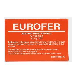 EUROFER 24 CAPSULE - Parafarmacia Tranchina