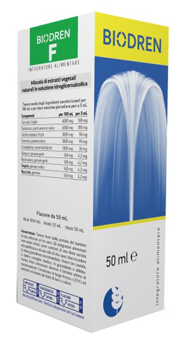 BIODREN F 50 ML SOLUZIONE IDROALCOLICA - FARMAPRIME