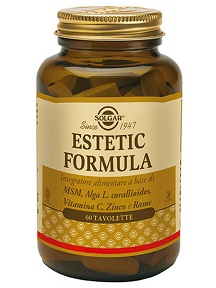 ESTETIC FORMULA SOLGAR 60 TAVOLETTE - Farmaconvenienza.it