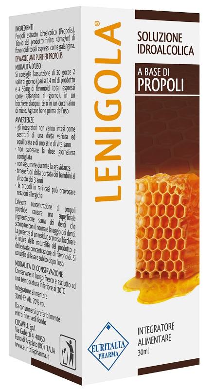 LENIGOLA SOLUZIONE IDROALCOLICA PROPOLI 30 ML - Biofarmasalute.it