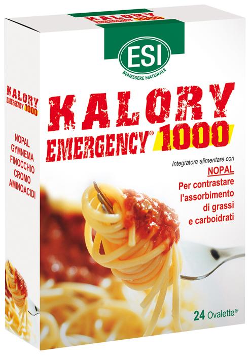ESI KALORY EMERGENCY 1000 24 OVALETTE - Farmafamily.it