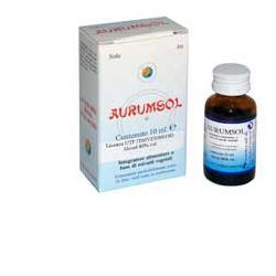 Herboplanet Aurumsol Liquido 10 ml - Farmastar.it