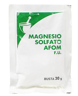 MAGNESIO SOLFATO AFOM 1 BUSTA - Spacefarma.it