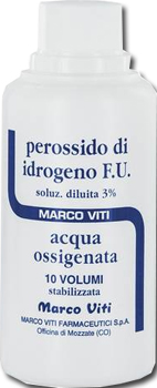 ACQUA OSSIGENATA 10 VOLUMI 3% 200 G - Spacefarma.it