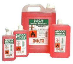 ALCOOL ETILICO DENATURATO 90% 500 ML - Farmacia 33