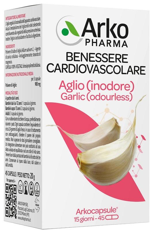 ARKO CAPSULE AGLIO 45 CAPSULE - FARMAPRIME