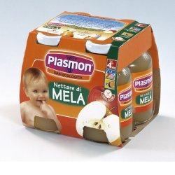 PLASMON NETTARE DI MELA 4 X 125 ML - Farmafamily.it