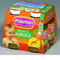 PLASMON NETTARE DI ALBICOCCA 4 X 125 ML - Farmapass