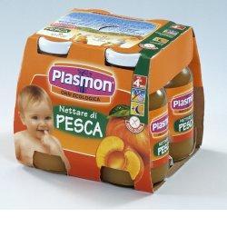 PLASMON NETTARE DI PESCA 4 X 125 ML - Farmafamily.it