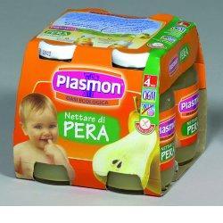 PLASMON NETTARE DI PERA 4 X 125 ML - Farmacielo