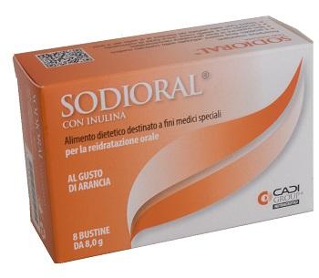 SODIORAL INULINA 8 BUSTINE 8 G - Farmacia Castel del Monte