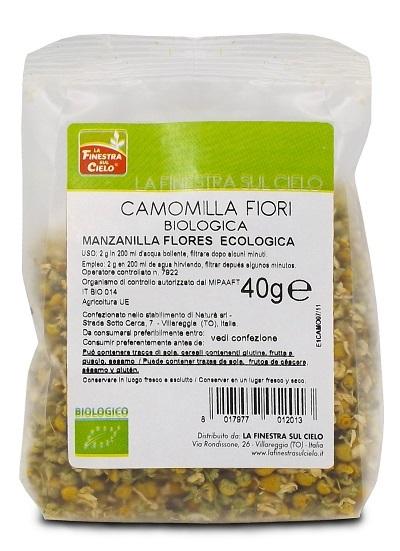 FSC CAMOMILLA FIORI INTERI BIO 40 G - Farmapc.it