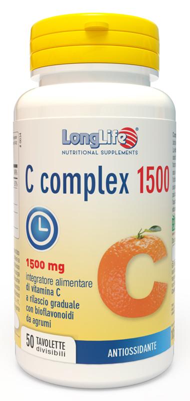 Longlife C Complex 1500 50 Tavolette - Arcafarma.it