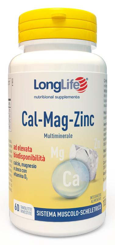 LONGLIFE CAL MAG ZINC 60 TAVOLETTE - latuafarmaciaonline.it