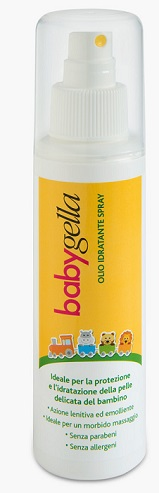BABYGELLA OLIO IDRATANTE FLACONE 125 ML SPRY - Speedyfarma.it
