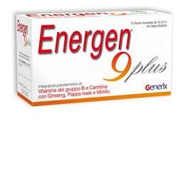 ENERGEN 9 PLUS 10 FLACONCINI 10 ML - SUBITOINFARMA