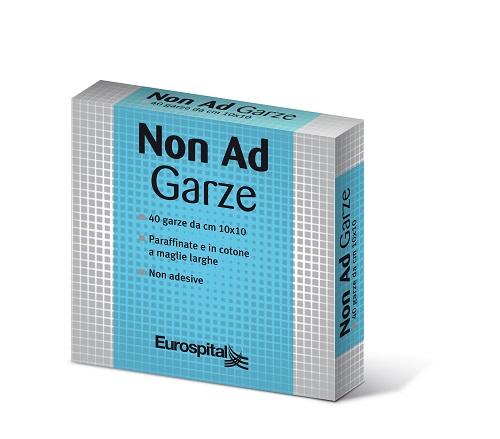 GARZA PARAFFINATA NON AD 10X10 CM 40 PEZZI - Farmaci.me