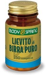 BODY SPRING LIEVITO DI BIRRA 250 COMPRESSE - Farmastar.it