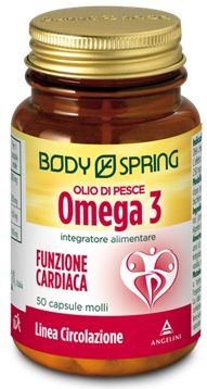 BODY SPRING OLIO DI PESCE OMEGA 3 50 CAPSULE - Farmafamily.it