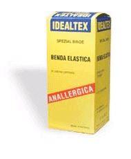 BENDA ELASTICA IDEALTEX NATURALE 12X450CM - latuafarmaciaonline.it