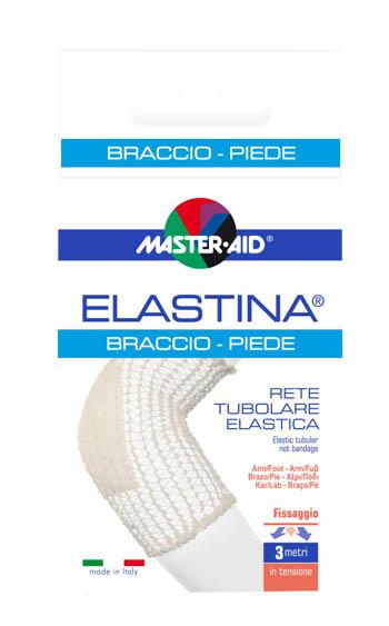 RETE TUBOLARE ELASTICA IPOALLERGENICA MASTER-AID ELASTINA BRACCIO/PIEDE 3 MT IN TENSIONE CALIBRO 4 CM - Farmaseller