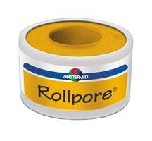 Master-Aid Rollpore Cerotto in Rocchetto tessuto non tessuto 5 x 2,5 cm - Farmalilla