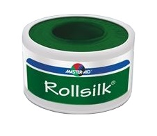 CEROTTO IN ROCCHETTO MASTER-AID ROLLSILK SETA 5X5 - Farmapage.it