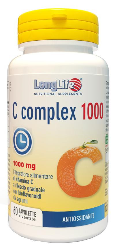 LONGLIFE C COMPLEX 1000 T/R 60 TAVOLETTE - latuafarmaciaonline.it