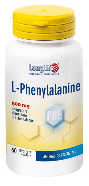 LONGLIFE LPHENYLAN 500 MG 60 TAVOLETTE - Farmacia Puddu Baire S.r.l.