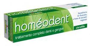 HOMEODENT DENTIFRICIO CLOROFILLA 75 ML - Farmaseller