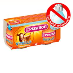 PLASMON OMOGENEIZZATO VITELLO 120 G X 2 PEZZI - Farmacia 33