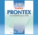 GARZA PRONTEX CAMBRIC 10X10CM 100 PEZZI - Speedyfarma.it