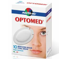 GARZA OCULARE MEDICATA MASTER-AID OPTOMED SUPER 10 PEZZI - Farmafamily.it