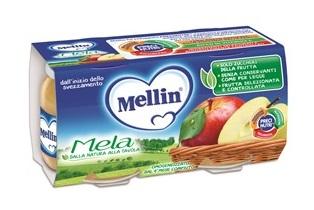 MELLIN OMOGENEIZZATO MELA 100 G 2 PEZZI - Farmacia Bartoli