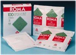 GARZA COMPRESSA ROMA 12/8 10X10CM 100 PEZZI - latuafarmaciaonline.it