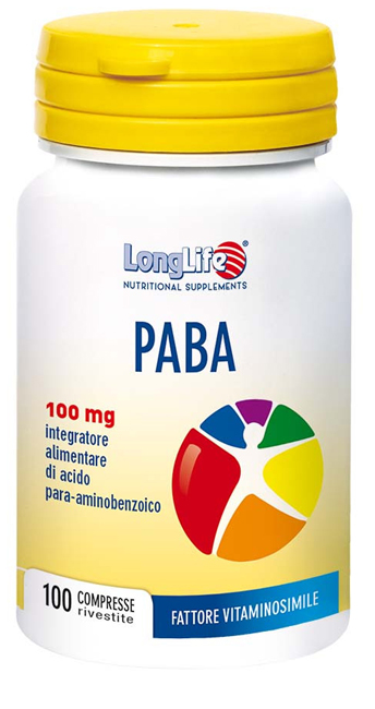 LONGLIFE PABA 100 100 COMPRESSE - latuafarmaciaonline.it