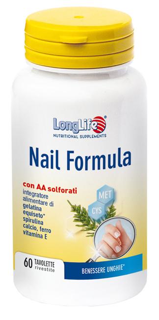 LONGLIFE NAIL FORMULA 60 TAVOLETTE - DrStebe