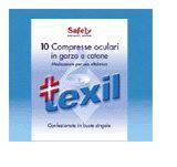 GARZA TEXIL OCULARE COTONE 10PZ - Farmastar.it