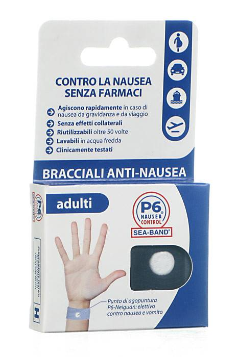 BRACCIALE PER NAUSEA PER ADULTI P6 CONTROL SEABAND - Farmafamily.it