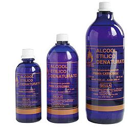 ALCOOL ETIL DENAT 500ML - farmaciafalquigolfoparadiso.it