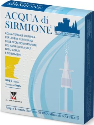 ACQUA SIRMIONE MINERALE NATURALE 6 FIALE 15 ML - farmaciafalquigolfoparadiso.it