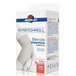 BENDA ELASTICA AUTOBLOCCANTE MASTER-AID STRETCHROLL 6X4 - Farmacia della salute 360