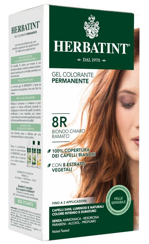 HERBATINT 8R BIONDO CHIARO RAMATO 150 ML - Farmabellezza.it
