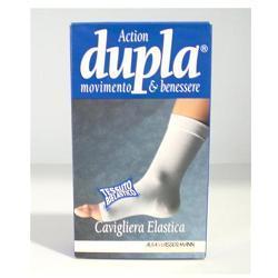 CAVIGLIERA ELASTICA DUPLA COLORE CAMMELLO MISURA LARGE - Farmabros.it